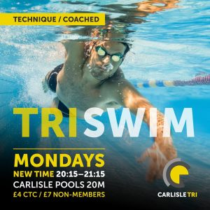 Carlisle Tri Club - TRISWIM Monday